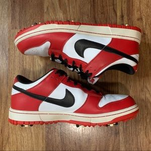 2012 Nike Dunk Low Golf NG Jordan Chicago 1 sz 9